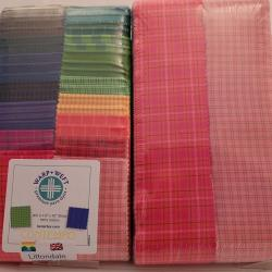 warp+weft pre cut strip pie fabrics